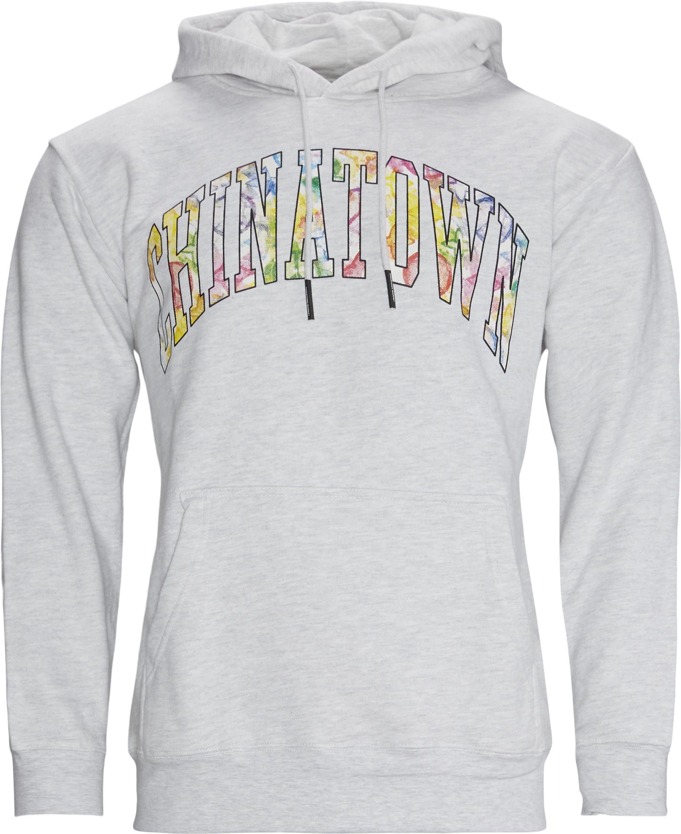 Watercolor Sweat - Sweatshirts - Regular fit - Grå